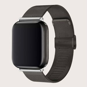 NEW Black Stainless Steel 44mm Apple Watchband